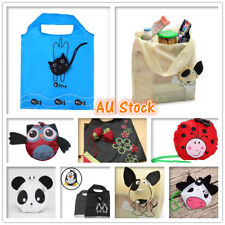 Foldable Shopping Bags Reusable Eco Grocery Carry Bag Storage Tote Handbags Cute