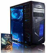 Vibox Ultra 11s Gaming PC con Gioco War Thunder 3.1ghz AMD A8 Quad Core proces