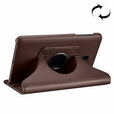 Samsung Galaxy Tab A 8.0 2017 SM-T380,SM-T385 Case,Litchi Leather Cover,Brown
