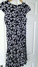 Womens Floral Print Wallis Tea Dress. Size 10.