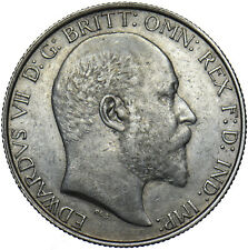 More details for 1906 florin - edward vii british silver coin - very nice
