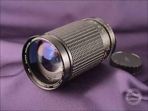 Olympus OM Mount Super Paragon PMC II 35-200mm Fast f3.8-5.2 Lens - 105