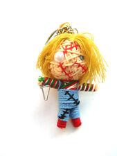 Chucky  Voodoo String Doll Keychain Ornament Accessory (Thai handmade)