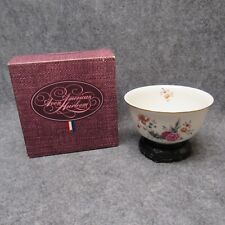 Avon 1981 Heirloom Collection Independence Day Porcelain Bowl w/Stand New In Box