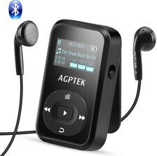 AGPTEK A26T Bluetooth 4.0 8GB MP3 Player Clip Sport Joggen FM-Radio Schwarz