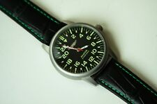 POLJOT AVIATOR 24hours wristwatch USSR Mechanical Rare Vintage military pilot