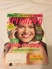 Seventeen Magazine Fashion Beauty Advertisements March 2007 Mandy Moore Cover
