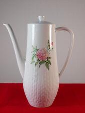 Mokkakanne Kaffeekanne Hutschenreuther Porzellan Exzellenz Rosita Rosen 50er 60e