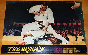 fotobusta film THE DRAGON - FIGHTING BLACK KINGS Takashi Nomura 1980