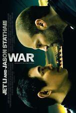 WAR - 27x40 D/S Original Movie Poster One Sheet JET LI 2007 JASON STATHAM