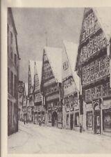 Osnabrück - Krahnstraße - Siebdruck von Walter Hobein