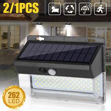 Waterproof Led Solar Lamp Outdoor Garden Yard Pir Motion Sensor Wall Spot Light
