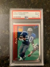 1997 Topps Chrome #110 BARRY SANDERS........PSA 9 MINT