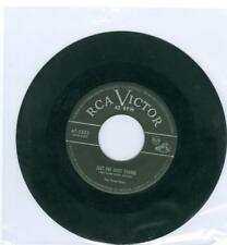 The Three Suns JUST ONE MORE CHANCE / THE CREEP RCA Victor 5553 1953