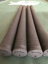13 NEW Lamkin ALL BLACK CROSSLINE golf grips from CUSTOM / TOUR Dept.