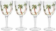 Merritt International Palm Tree Wine Glass, Set of 4 (25430)