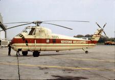 Keystone Helicopters, Sikorsky S-58, N885, in 1967, aircraft slide