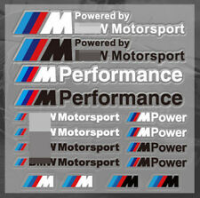 M Power Performance Motorsports Decal M Tech Badge Dashboard FOR BMW Sticker