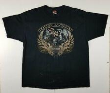 Harley Davidson T-shirt Baton Rouge, Looney Tunes 2XL