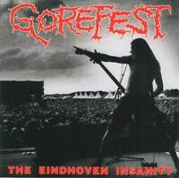 GOREFEST - THE EINDHOVEN INSANITY (1993) Dutch Death Metal CD Jewel Case+GIFT