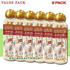 [6-PACK] Lamb Placenta Facial Moisturizer with Avocado & Vitamin E 100 gelcaps