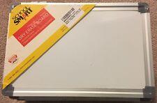 Lot Of 9 New School Smart Portable Dry Erase Board w/ Frame Hooks School or Home