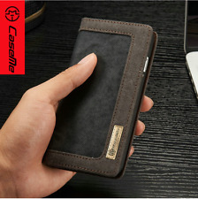 iPhone 7 Plus Wallet Black Case Magnetic Stand Cover Flip and Card Slot Pocket