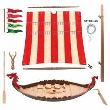 Playmobil viking ship sail canvas Custom Drakkar medieval viking wikinger römer