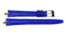 12 mm Original Blue Leather Gucci Watch Strap Band 12 R CJ