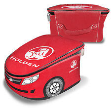 Holden Novelty Car Shape Red Printed Insulated Lunch Box Cooler Bag New