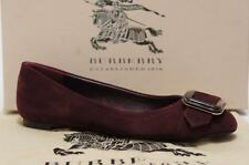 BURBERRY TRENCH BUCKLE LEYGREEN FLAT BALLERINA SHOES 36/5.5 $495