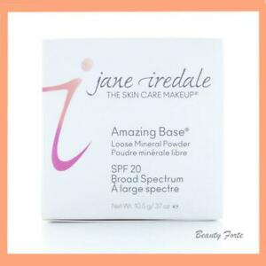 FRESH! Jane Iredale Amazing Base Loose Mineral Powder SATIN 10.5g - New In Box!
