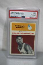 1961 Fleer #36 Oscar Robertson (ROOKIE) PSA 4 MK HOF Basketball Card HOT CARD