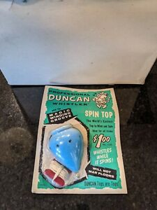 RARE! VINTAGE (1965) Duncan Whistler Spin Top Yoyo - STRAIGHT OUT OF MFR BOX!
