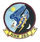 USMC Original vintage Squadron patch  HMM-263 Thunder Eagles