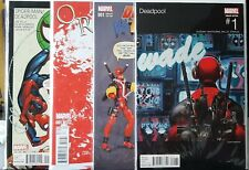 Deadpool lot NM Thanos Spider-Man X-Men