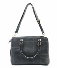 Ladies Fashionable Leather Bag Sling Top Handle Bag (Dark Grey)