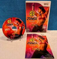 Zumba Fitness (Nintendo Wii, 2010) with Manual - Tested & working