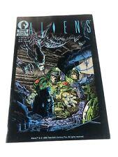 Aliens 1 1st Printing Appearance Dark Horse Comics 1988 Xenomorphs