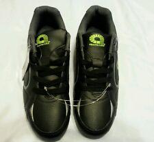 akademiks Athletic Shoes Men Size 9.5 Athletic Footwear Black Lime Sneakers