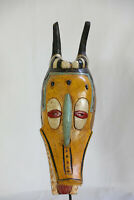 AQ5 Baule Maske Goli zemble alt Afrika / Masque baoule ancien / Old tribal mask