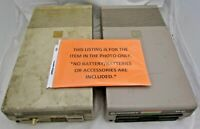 "Lot Of 2 1984 COMMODORE VINTAGE 1541 FLOPPY DISK DRIVE 5.25"" Power on Test Only"