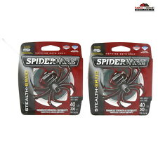 Spiderwire Stealth Braid Fishing Line Moss Green 40lbs ~ New