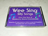Vintage Wee Sing Silly Songs Cassette tape 1982 children's music