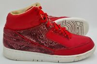 Nike Air Python Lux Trainers 632631-601 University Red/White UK10.5/US11.5/E45.5