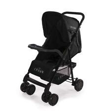 Sportbuggy Microcarrito carrito carro Crown de Bebé Deportivo negro