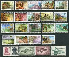 PAPUA NEW GUINEA 1961-73 MNH 2 Sets to $2 24 Stamps