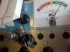 (2) STRONG! Hytron (CBS) USA 1A5GT/G Silver Plate Vacuum Tube NOS
