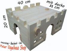 Käfig-Zubehör aus Holz für Klein- & Nagetiere