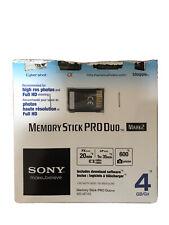 Sony Memory Stick PRO Duo 4GB - Retail - MS-MT4G